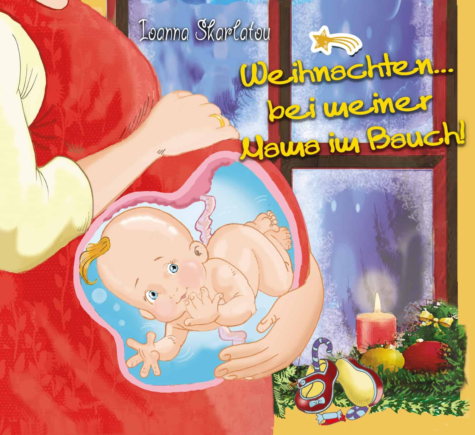 Christmas... in my mother's womb! cover