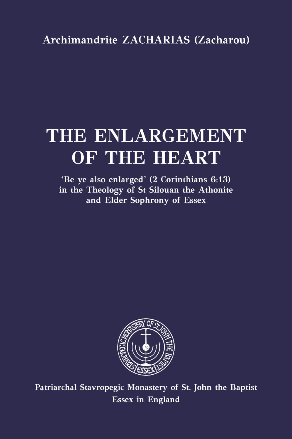 The Enlargement of the Heart - english_cover-epub