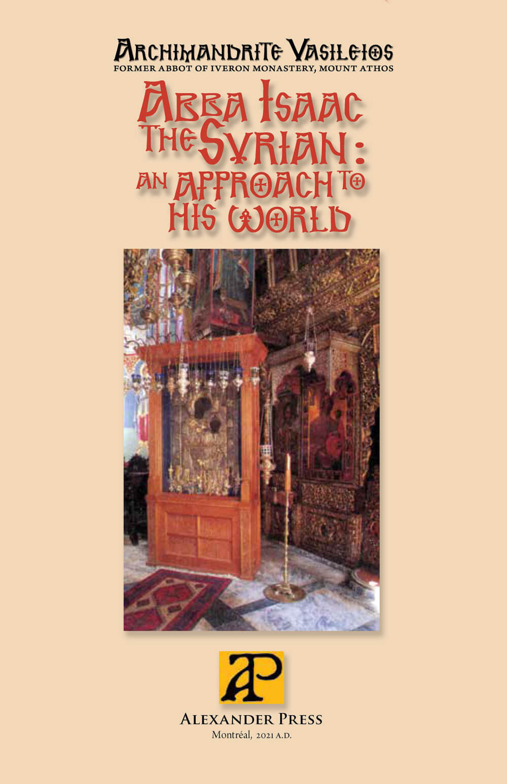 Abba Isaac the Syrian, an Approach to His World - english_cover-epub