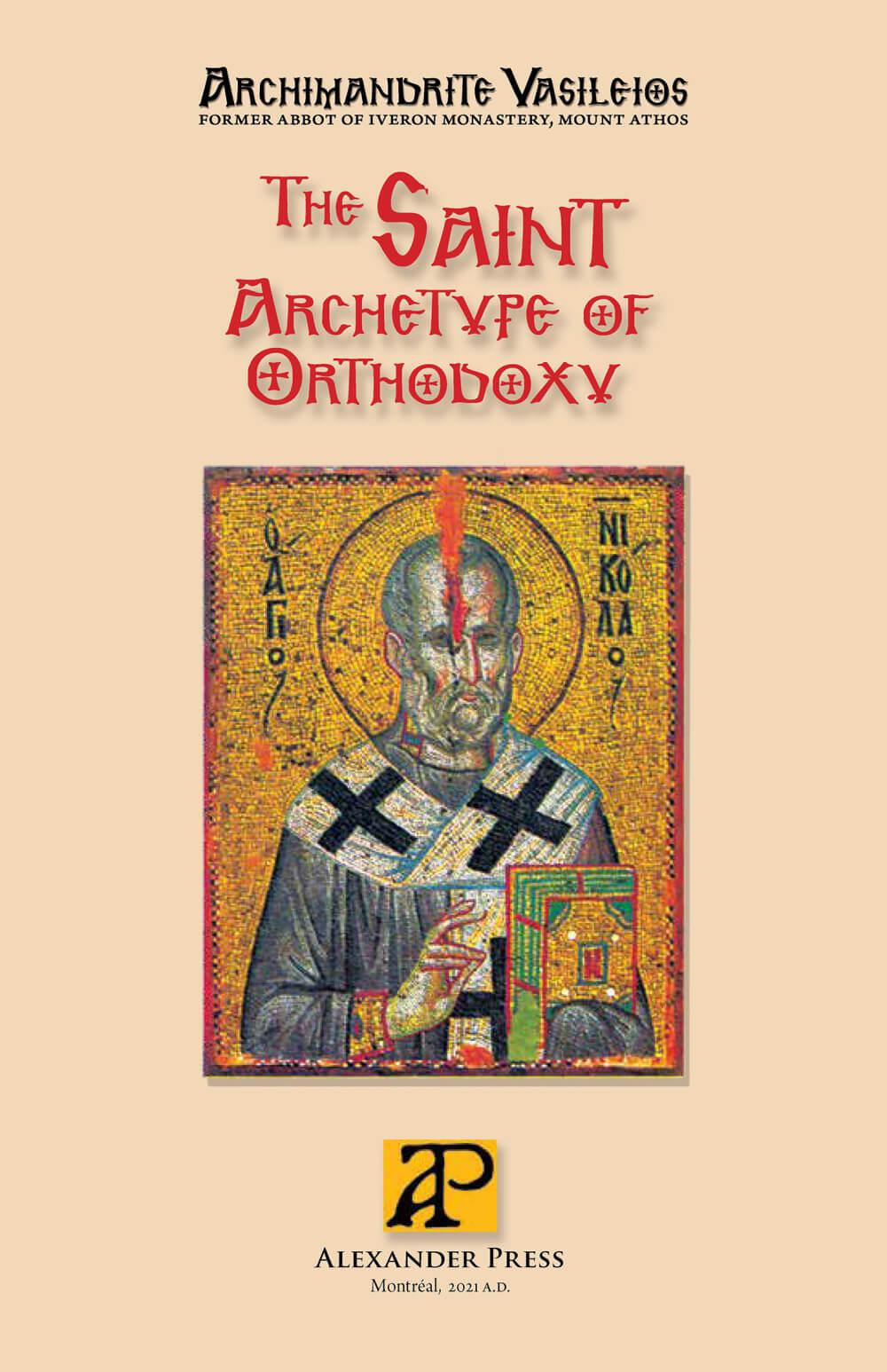 The Saint, Archetype of Orthodoxy - english_cover-epub